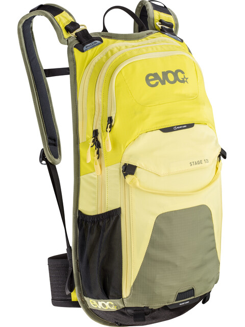 Evoc Stage Backpack 12 L sulphur-yellow-olive